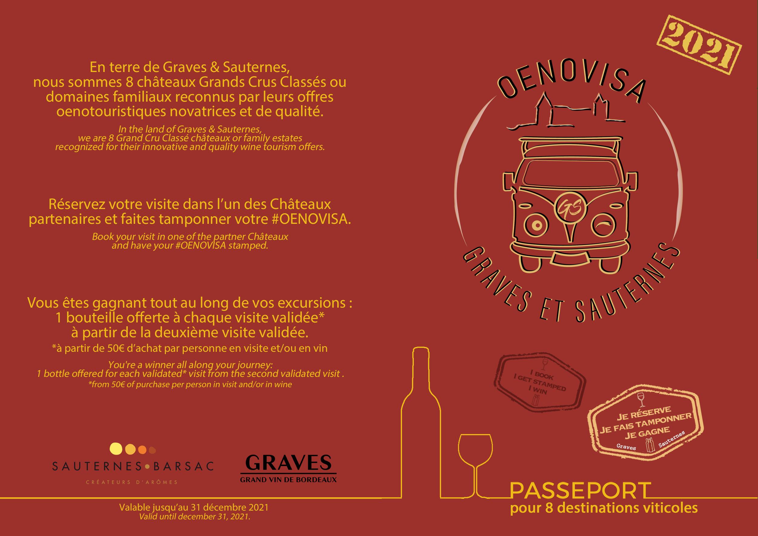 Couverture Passeport Oenovisa